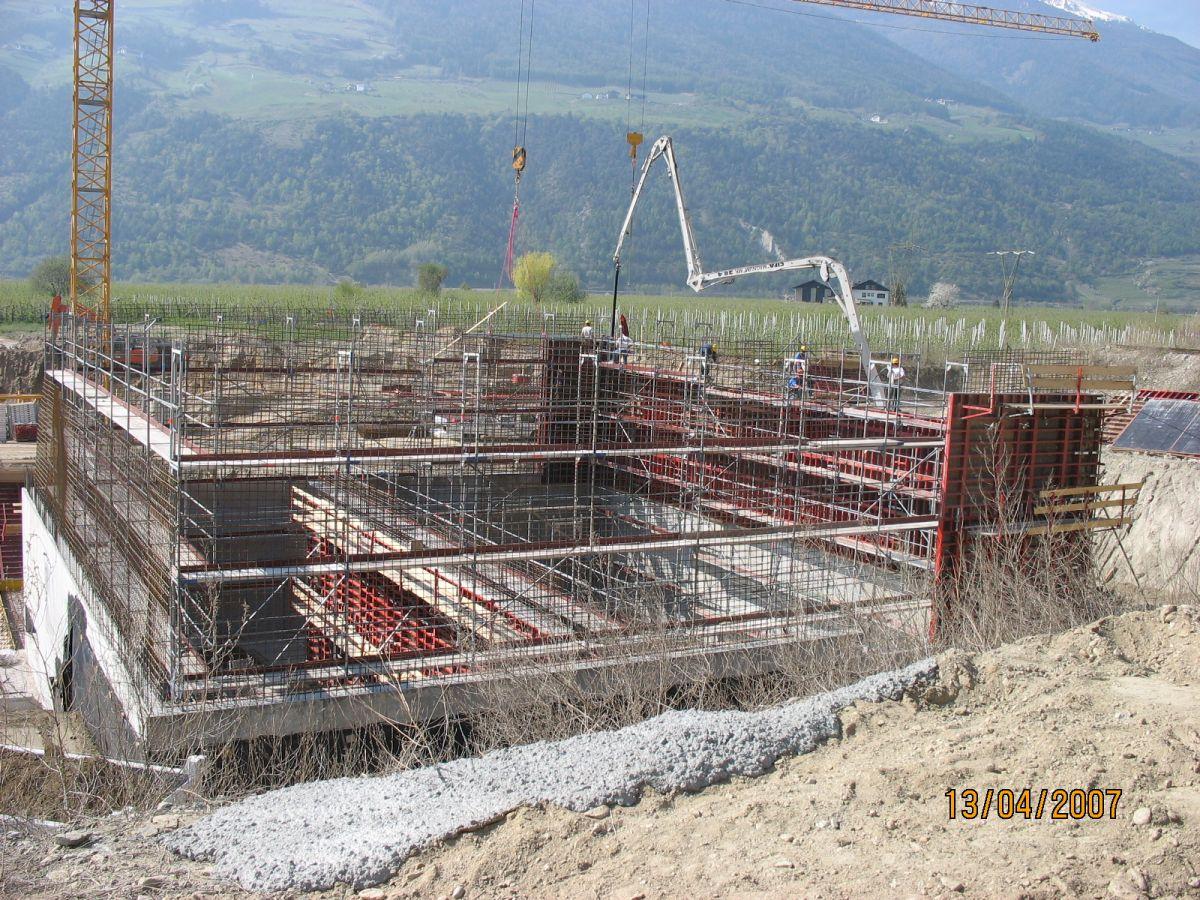 ricostruzione della centrale di teleriscaldamento di